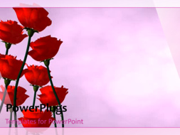 PowerPoint Template - Flowers Background